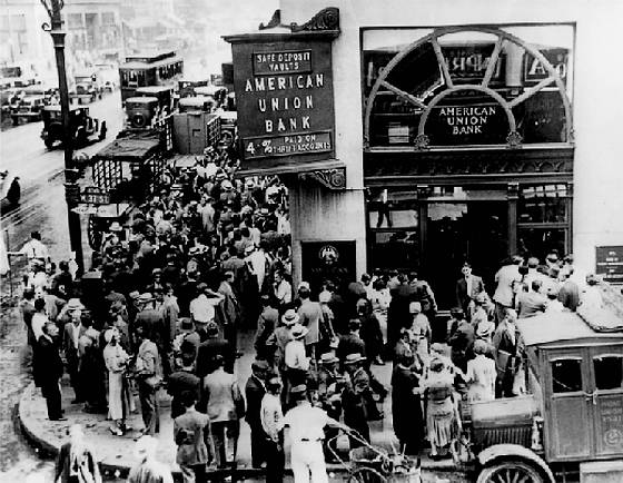 24 oktober 1929 zwarte donderdag - Na de zwarte bank ...